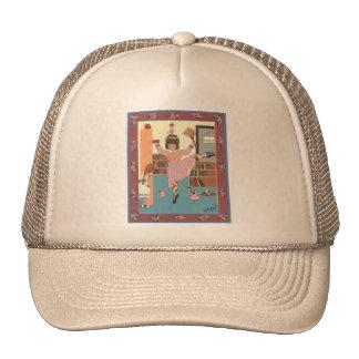 El bibliotecario del baile gorras