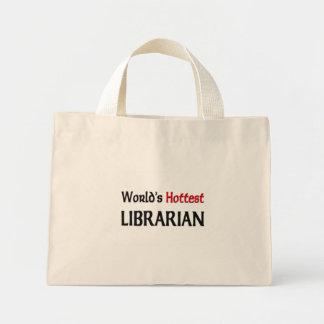El bibliotecario más caliente de los mundos bolsa tela pequeña