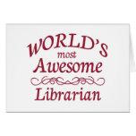 El bibliotecario más impresionante del mundo felicitacion
