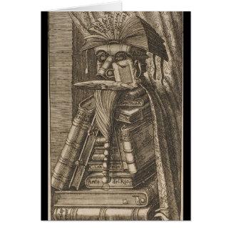 El bibliotecario tarjeta