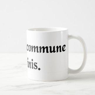 El bien común del hombre taza de café