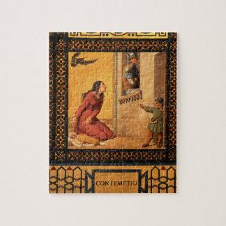 El bien y el mal: Desprecio, 1832 (detalle de 8970 Rompecabeza Con Fotos