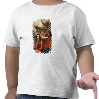 El bien y el mal: el diablo que tienta a una mujer camisetas