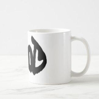 El bien y el mal taza de café