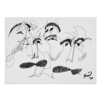 El Bigote del Abuelo/el bigote del abuelo Póster