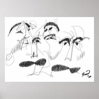 El Bigote del Abuelo/Grandfather's Moustache Poster