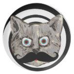el bigote del gato plato de cena
