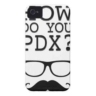 El bigote iPhone 4 Case-Mate protectores