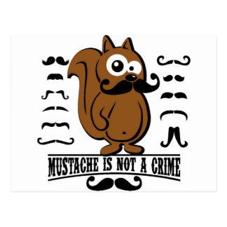 el bigote no es un crimen postales