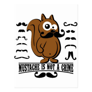 el bigote no es un crimen tarjeta postal