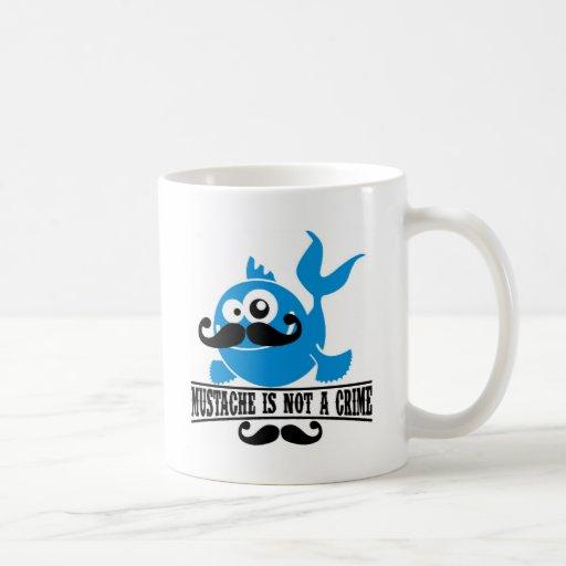 el bigote no es un crimen taza de café
