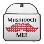 El bigote Smooch me Fundas Macbook Pro