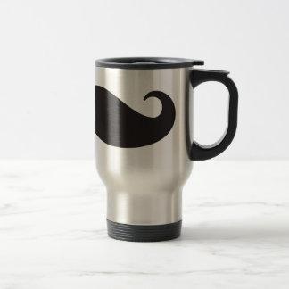 El bigote taza de café