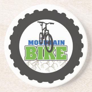 El Biking de la bici de montaña Posavasos Diseño
