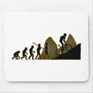 El Biking de la montaña Mouse Pads