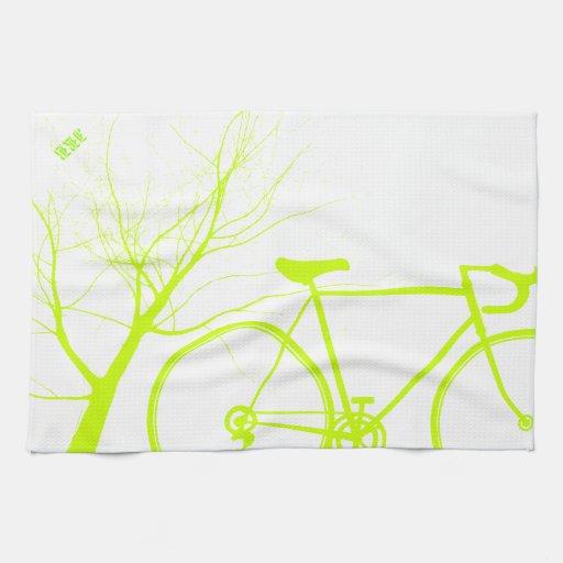 El Biking de la naturaleza Toalla