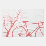 El Biking de la naturaleza Toallas De Mano