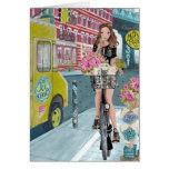 El Biking en tarjeta de felicitación de Brooklyn