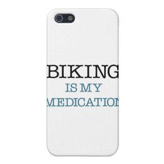 El Biking es mi medicación iPhone 5 Funda