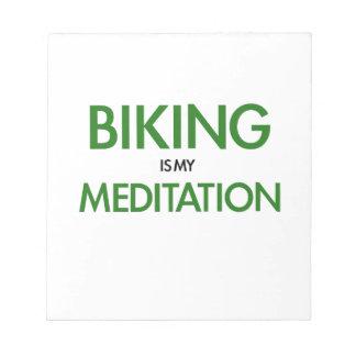 El Biking es mi meditación Libreta Para Notas