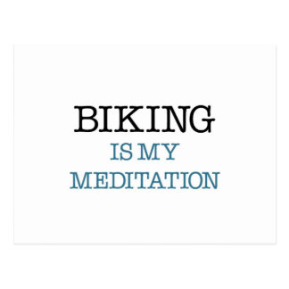 El Biking es mi meditación Postales