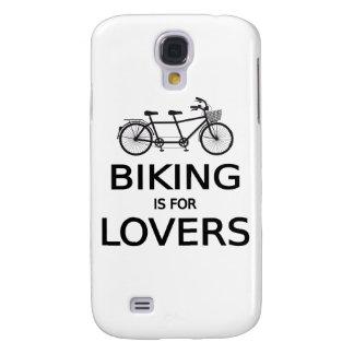 el biking está para los amantes, bicicleta en tánd