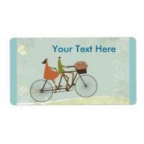 El Biking etiquetas