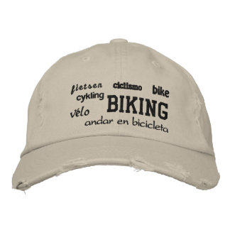 El Biking - gorra bordado Gorra De Béisbol
