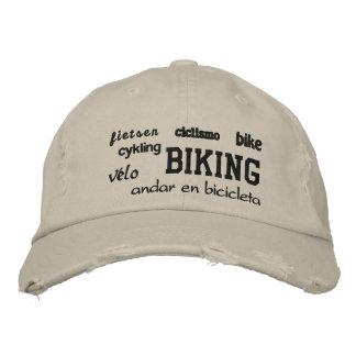 El Biking - gorra bordado Gorro Bordado