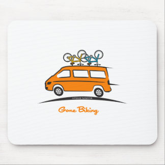 El Biking ido esprinter de Mercedes Tapete De Ratón