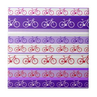 el biking - la bici raya el modelo azulejo cuadrado pequeño