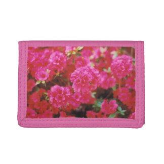 El billetero de las señoras con diseño floral