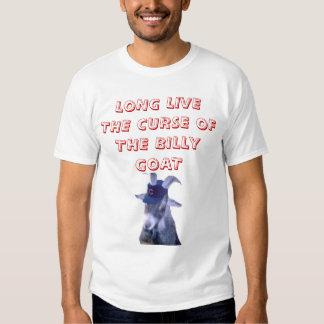 el billy, VIVE DE LARGO LA MALDICIÓN DE LA CABRA Camisas