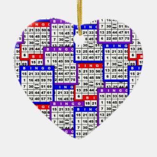 El bingo carda el modelo ornamentos de reyes magos