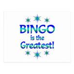 El bingo es el más grande postales