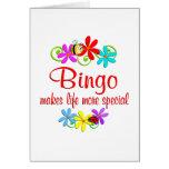 El bingo es especial felicitación