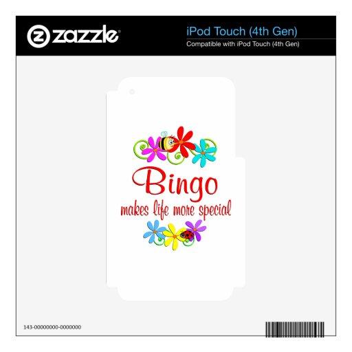 El bingo es especial skins para iPod touch 4G