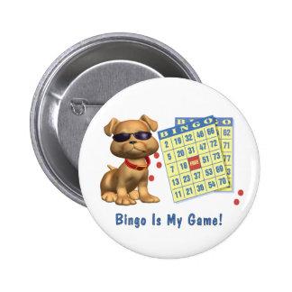 ¡El bingo es mi juego! Pin Redondo De 2 Pulgadas