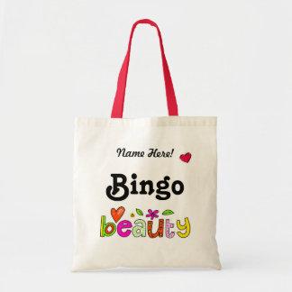 El bingo hermoso personaliza el bolso conocido del