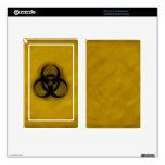 El Biohazard del zombi enciende la caja del fuego Kindle Fire Pegatinas Skins