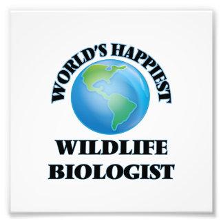 El biólogo más feliz de la fauna del mundo cojinete