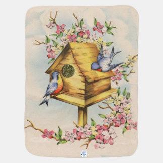 El Birdhouse Mantitas Para Bebé