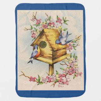 El Birdhouse Mantita Para Bebé