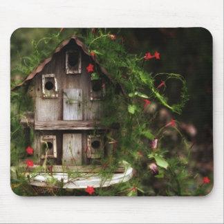 El Birdhouse Tapetes De Ratón