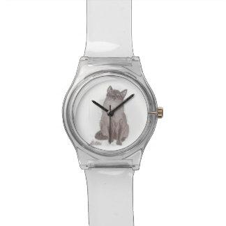 El Birdwatcher por el gato siamés de Dani Ellis Relojes