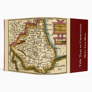 """El Bishopprick del mapa del condado de Durham, Carpeta 2"""""""