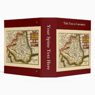 """El Bishopprick del mapa del condado de Durham, Ing Carpeta 2"""""""