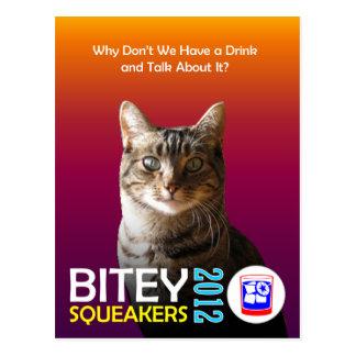 El Bitey la postal 1 TM del boleto de los Squeak
