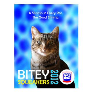 El Bitey la postal 2 TM del boleto de los Squeak