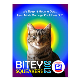 El Bitey la postal 3 TM del boleto de los Squeak